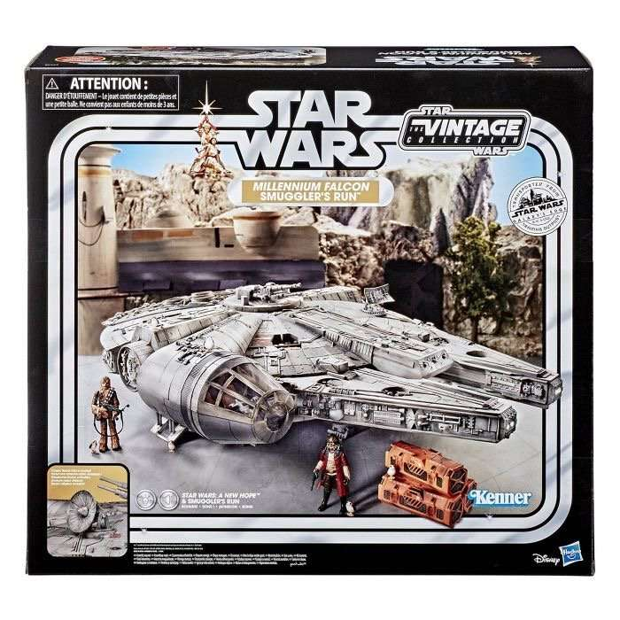 Vintage Collection Smugglers Run Millennium Falcon