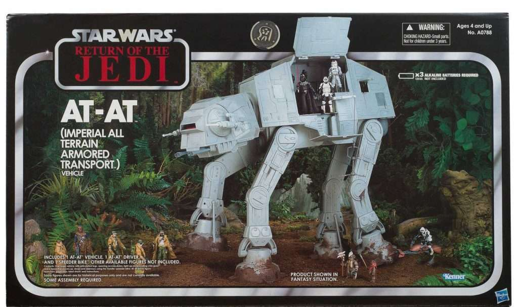 "Imperial AT-AT (Return of the Jedi, Toys ""R"" Us exclusive)"