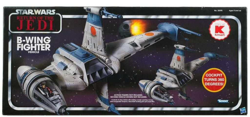 B-Wing Starfighter vintage collection