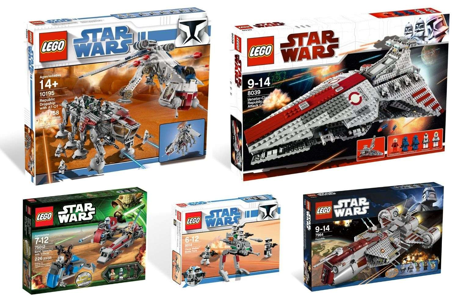 10 best LEGO Star Wars Clone Wars Sets