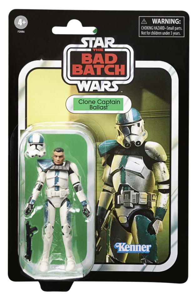 Bad Batch Clone Captain Ballast