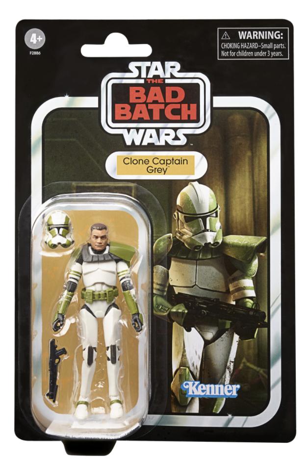 Bad Batch Clone Captain Grey