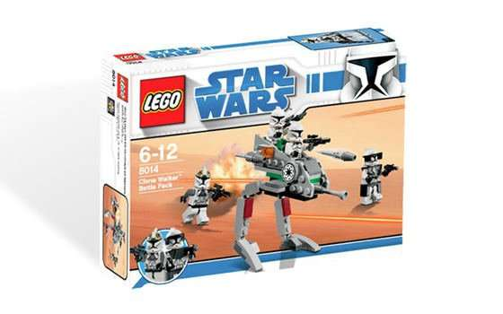 8014 Clone Walker Battle Pack