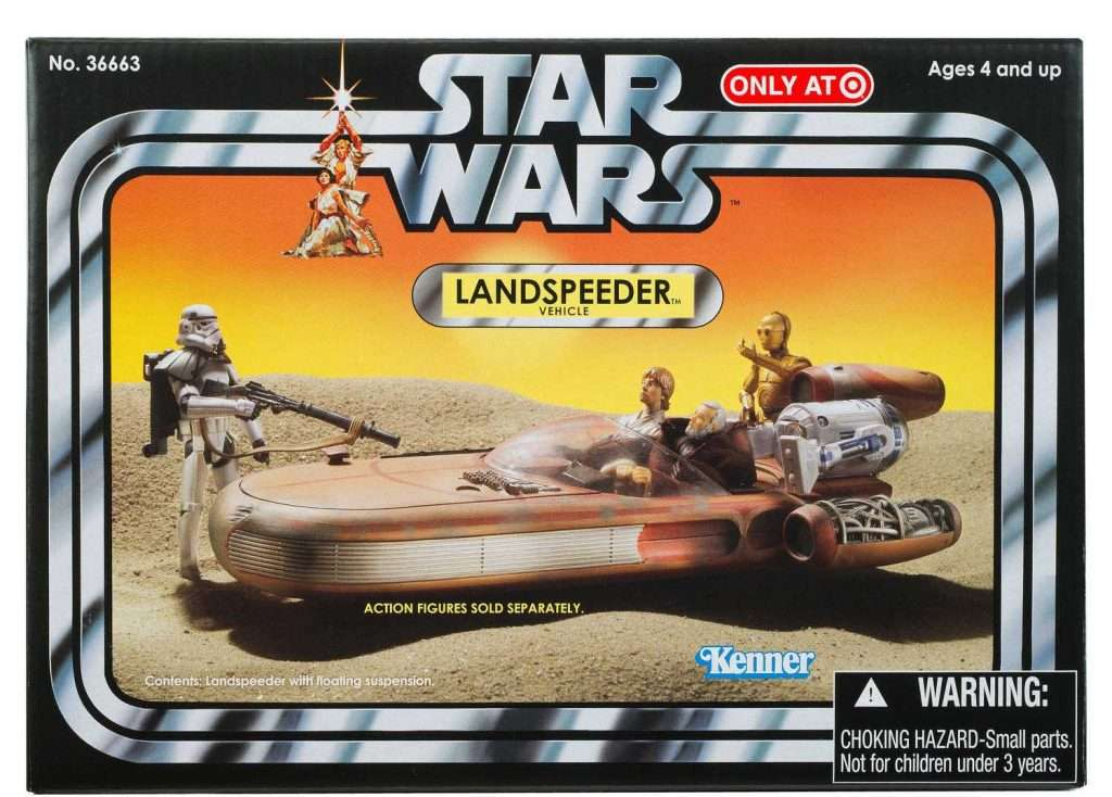 Vintage Collection Landspeeder