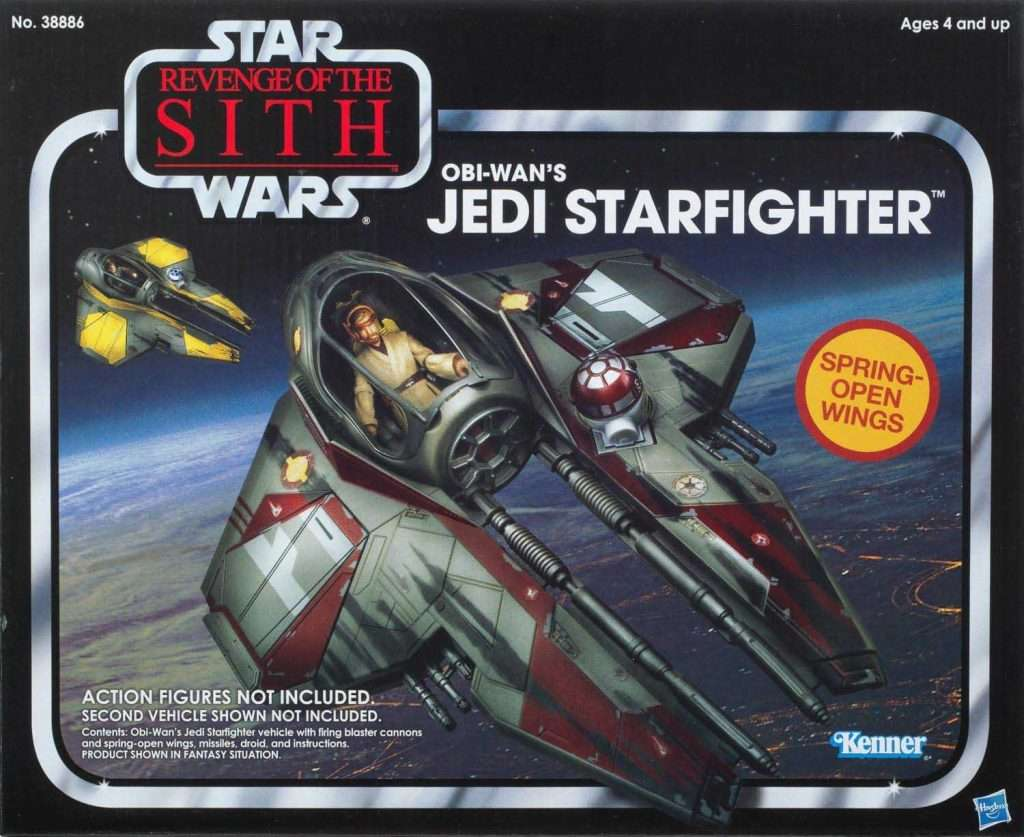 Obi-Wan Kenobi's Jedi Starfighter
