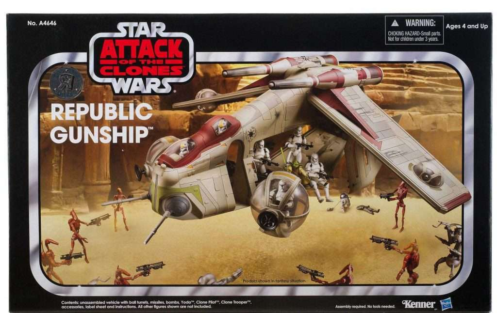 "Republic Gunship (Toys ""R"" Us exclusive)"