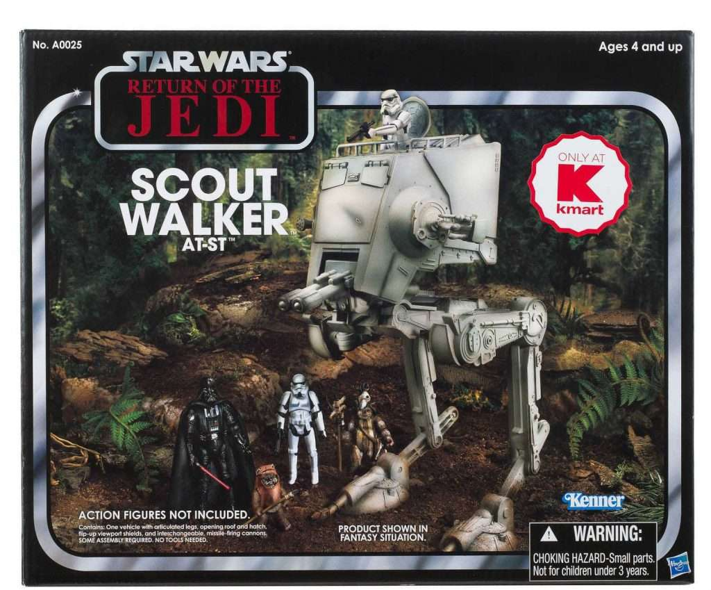 Scout Walker AT-ST (K-Mart exclusive)