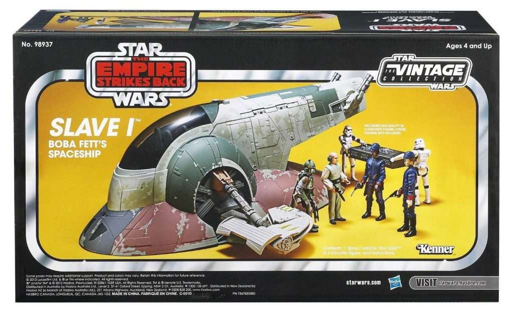 Vintage Collection Slave I Boba Fett's Spaceship