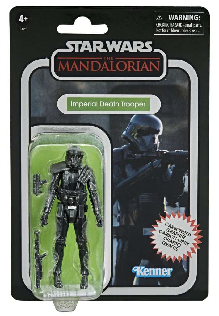 Carbonized Imperial Death trooper