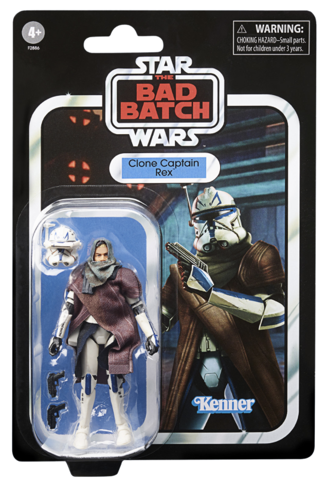 Bad Batch Clone Captain Rex