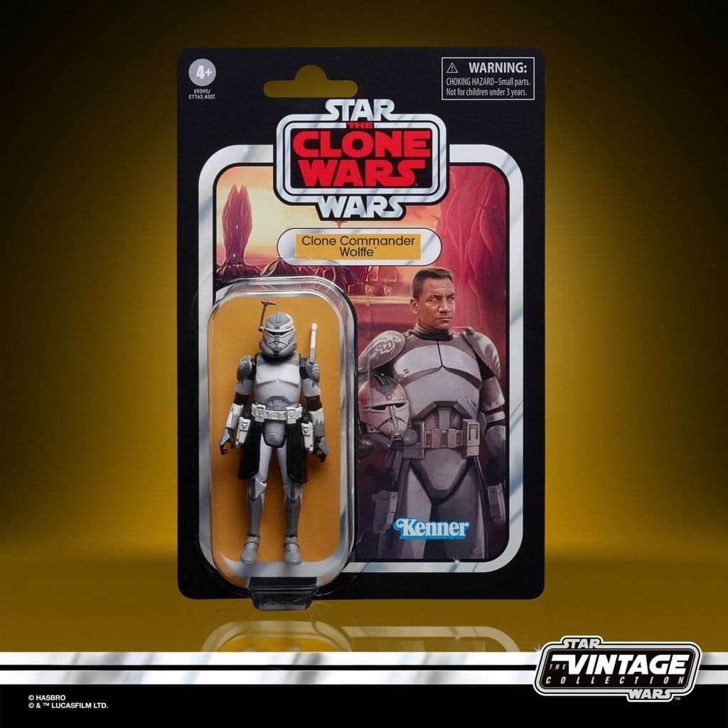 Vintage Collection Clone Commander Wolffe
