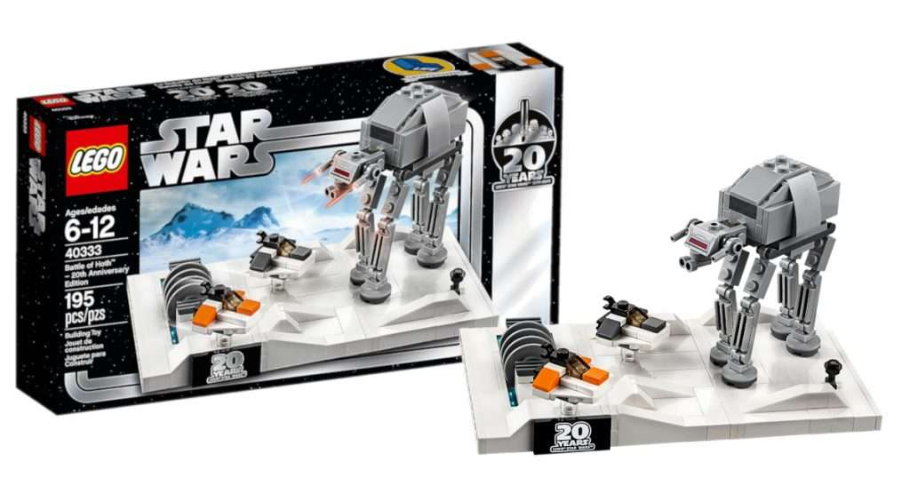 LEGO Battle of Hoth mini set