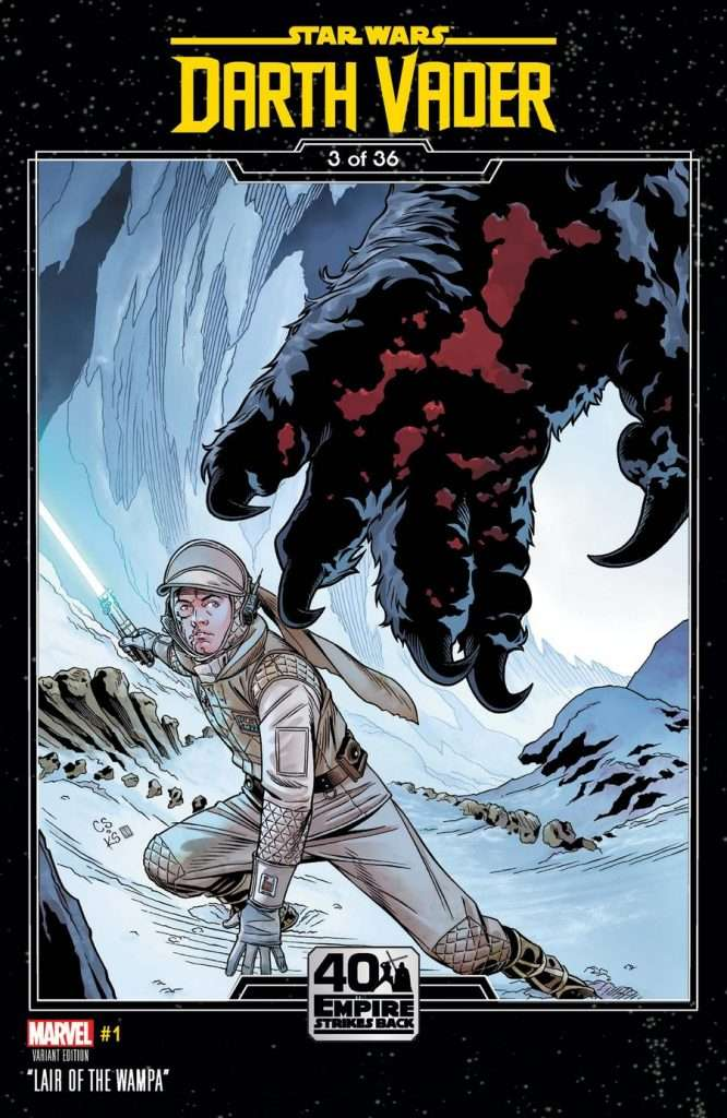 Darth Vader #1 Empire Strikes Back variant