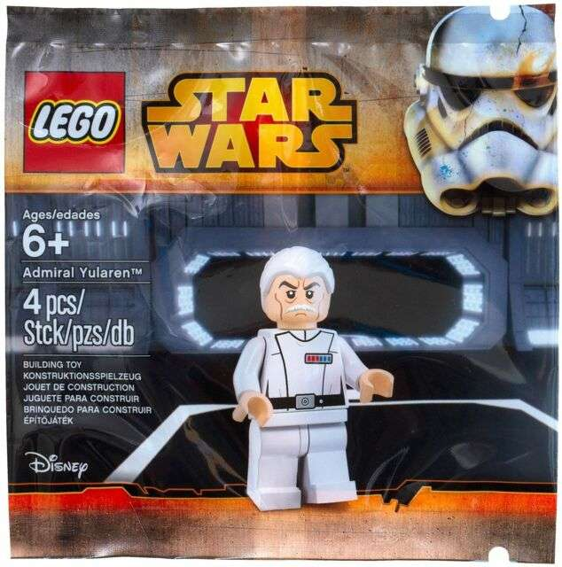 LEGO Admiral Yularen polybag