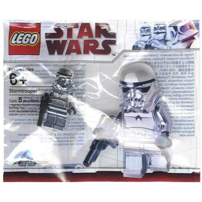 LEGO Star Wars Chrome Stormtrooper Polybag