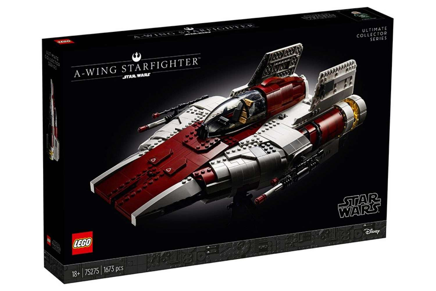 75275 LEGO Star Wars Ultimate Collector Series A-Wing Starfighter