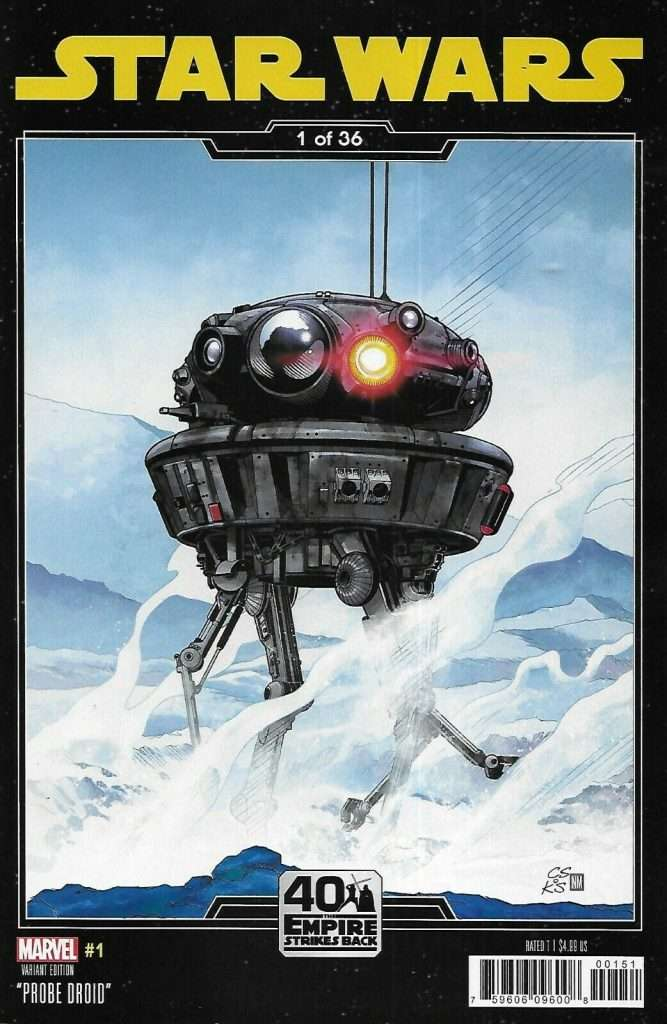 Star Wars #1 Empire Strikes Back variant