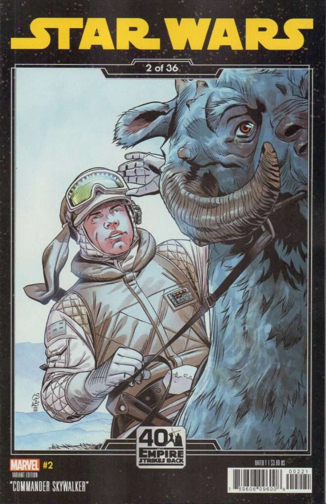 Star Wars #2 Empire Strikes Back variant