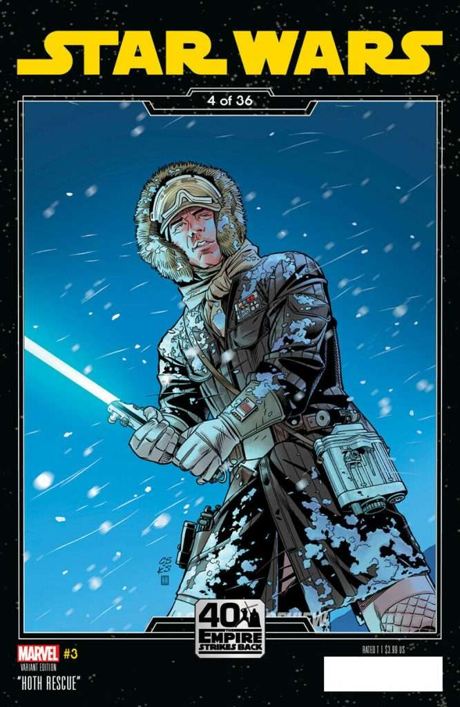 Star Wars #3 Empire Strikes Back variant