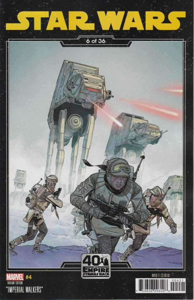 Star Wars #4 Empire Strikes Back variant
