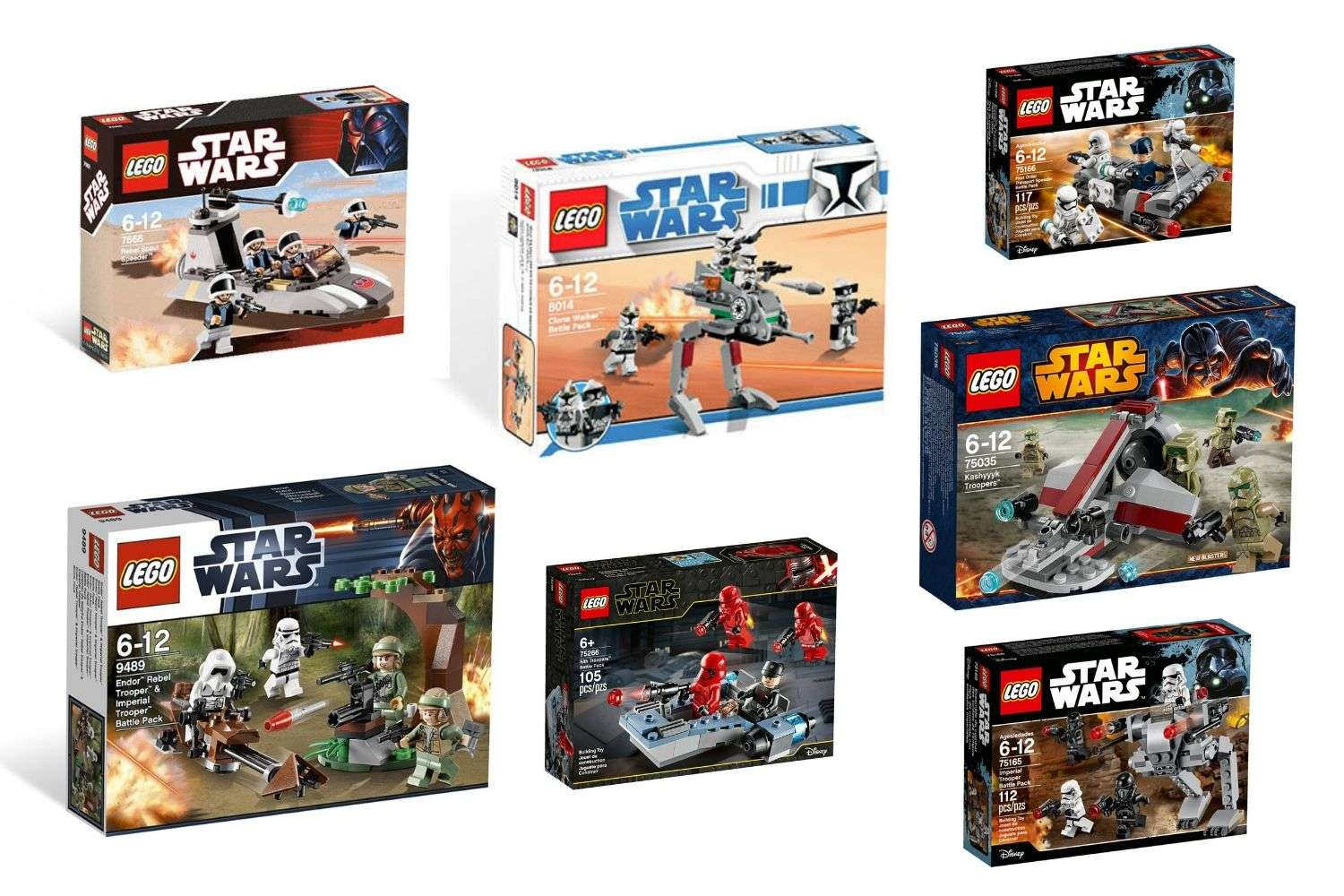 Best LEGO Star Wars Battle Packs