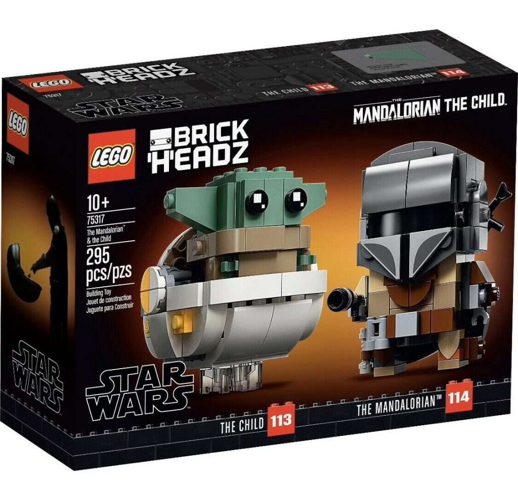 LEGO Brickheadz The Mandalorian and The Child 75317