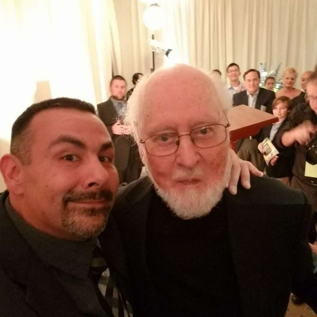 Joe with John Williams
