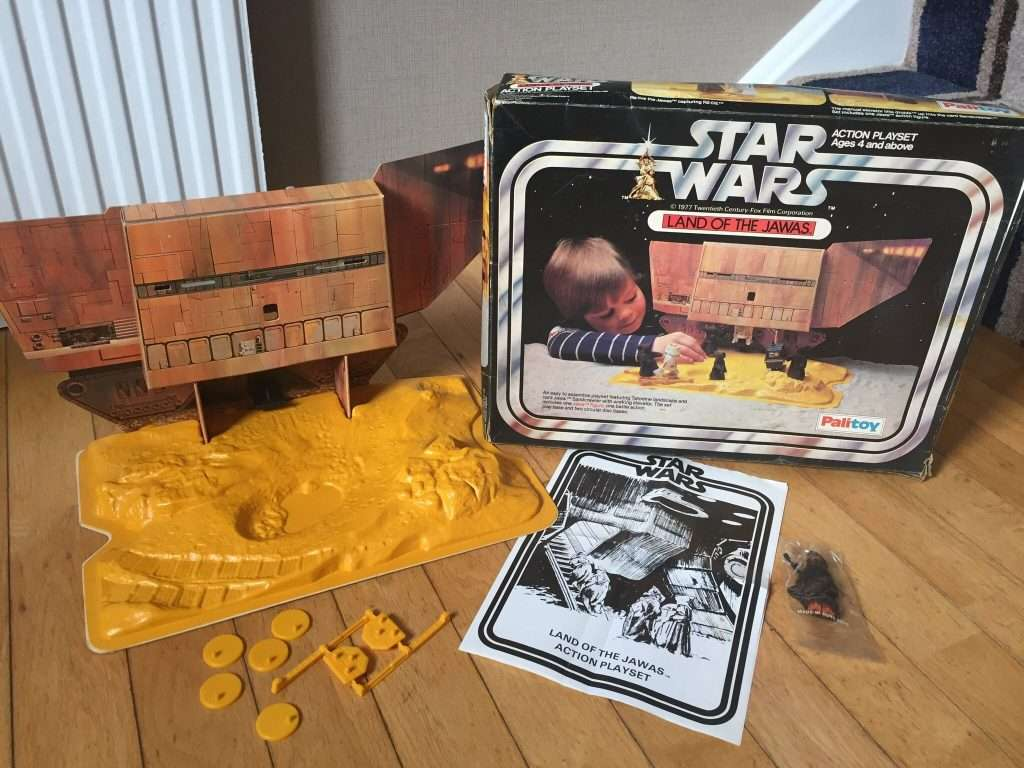 Palitoy Land of the Jawas playset