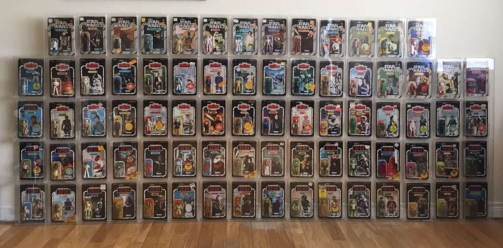 Vintage Star Wars MOC collection