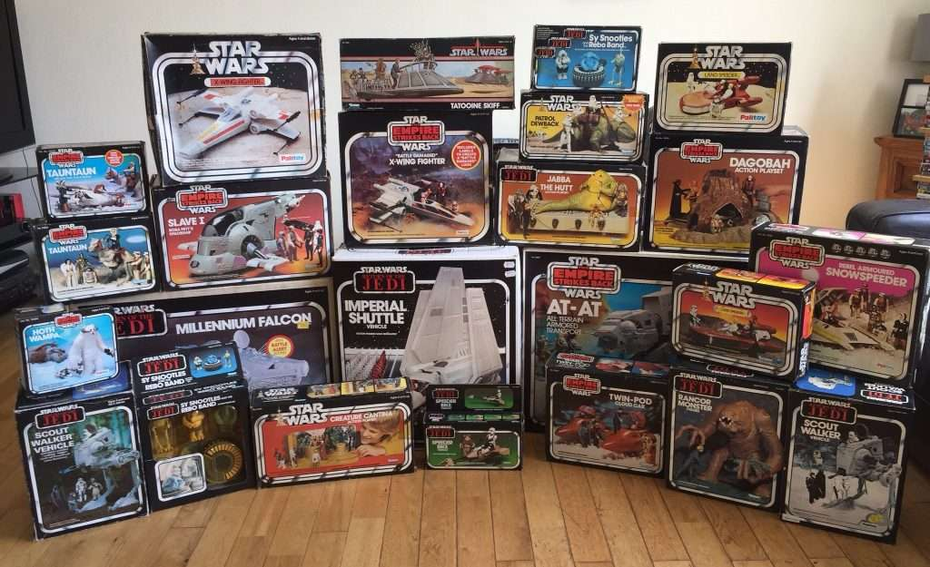 Vintage Star Wars boxed
