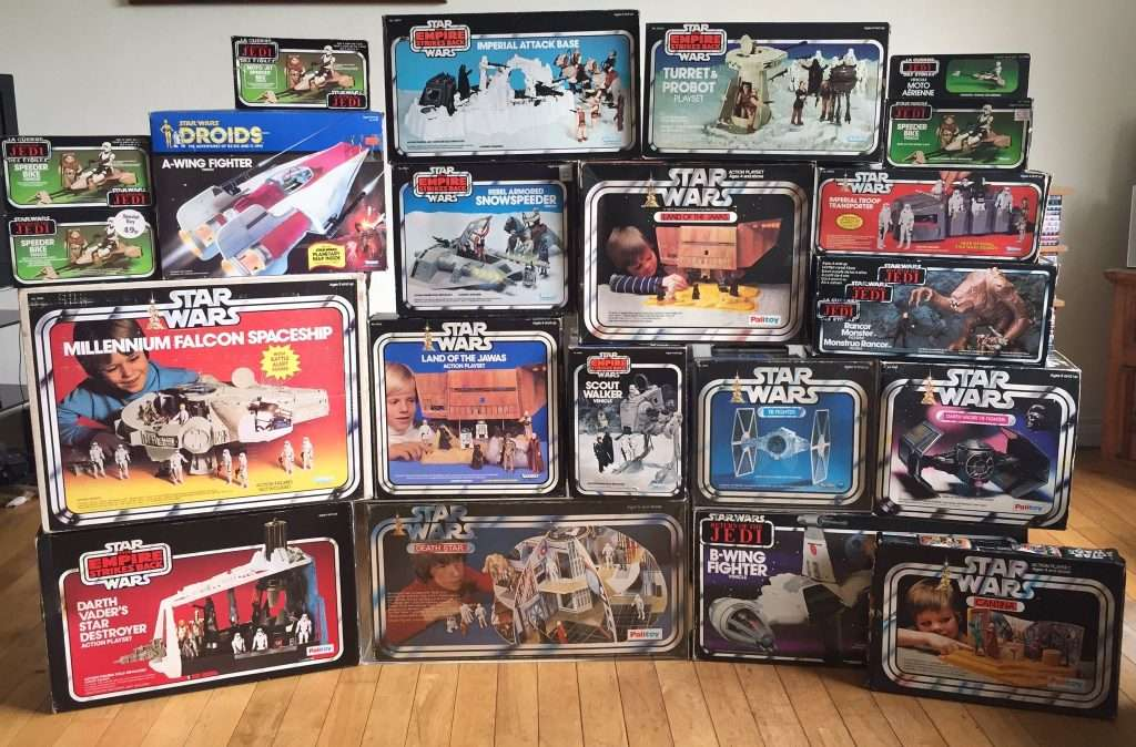 Boxed Vintage Star Wars