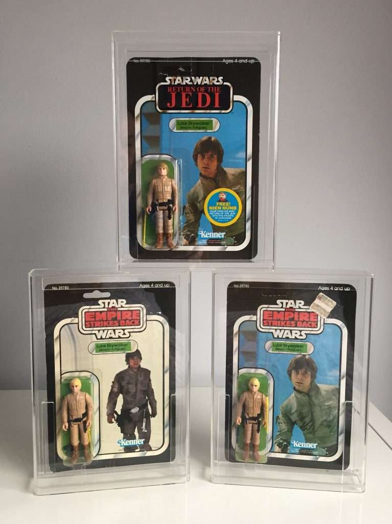 Luke Skywalker Bespin Fatigues moc collection