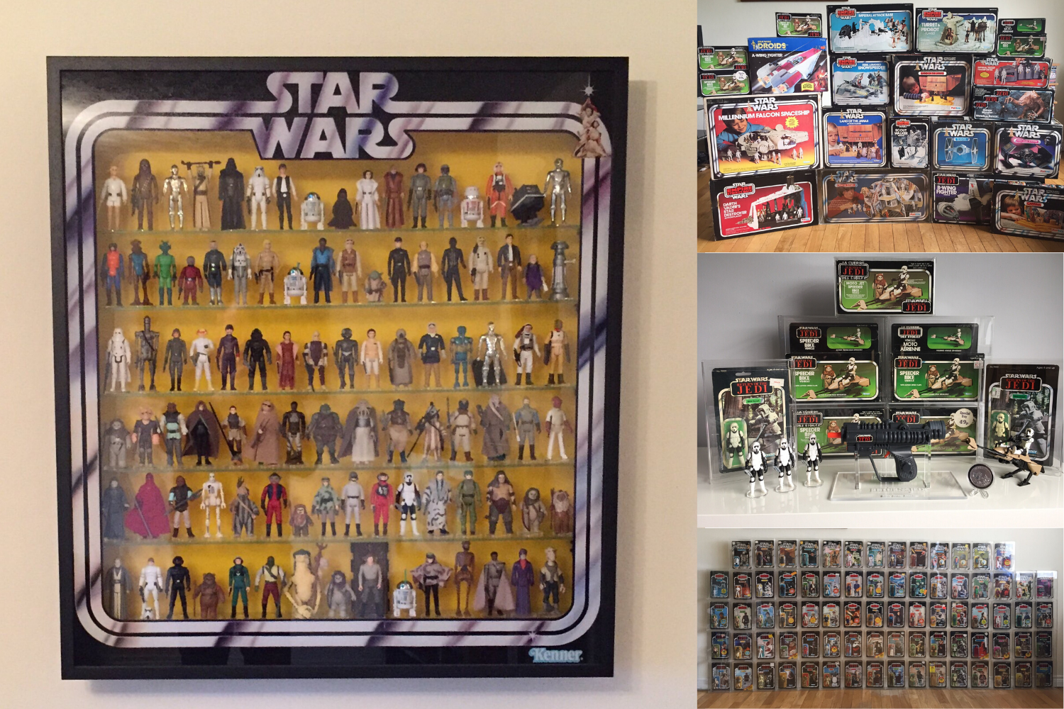 Mark Jackson, Vintage Star Wars collector