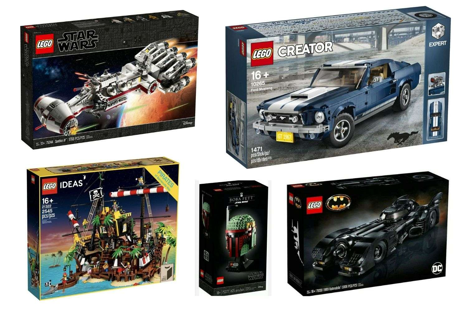 Best LEGO Sets for Dad