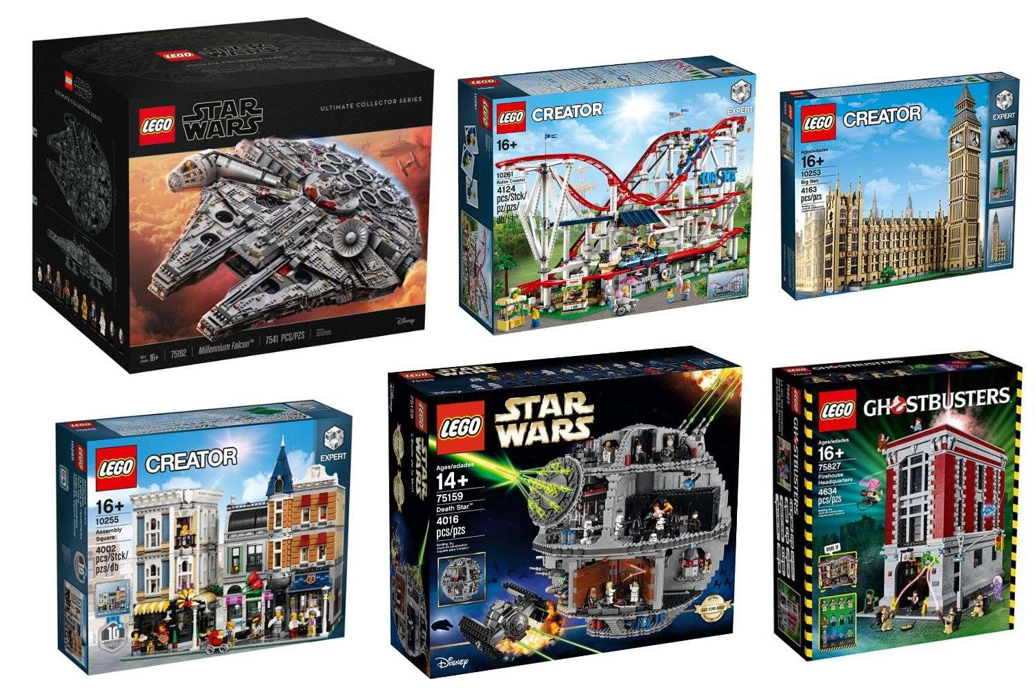 Biggest LEGO Sets