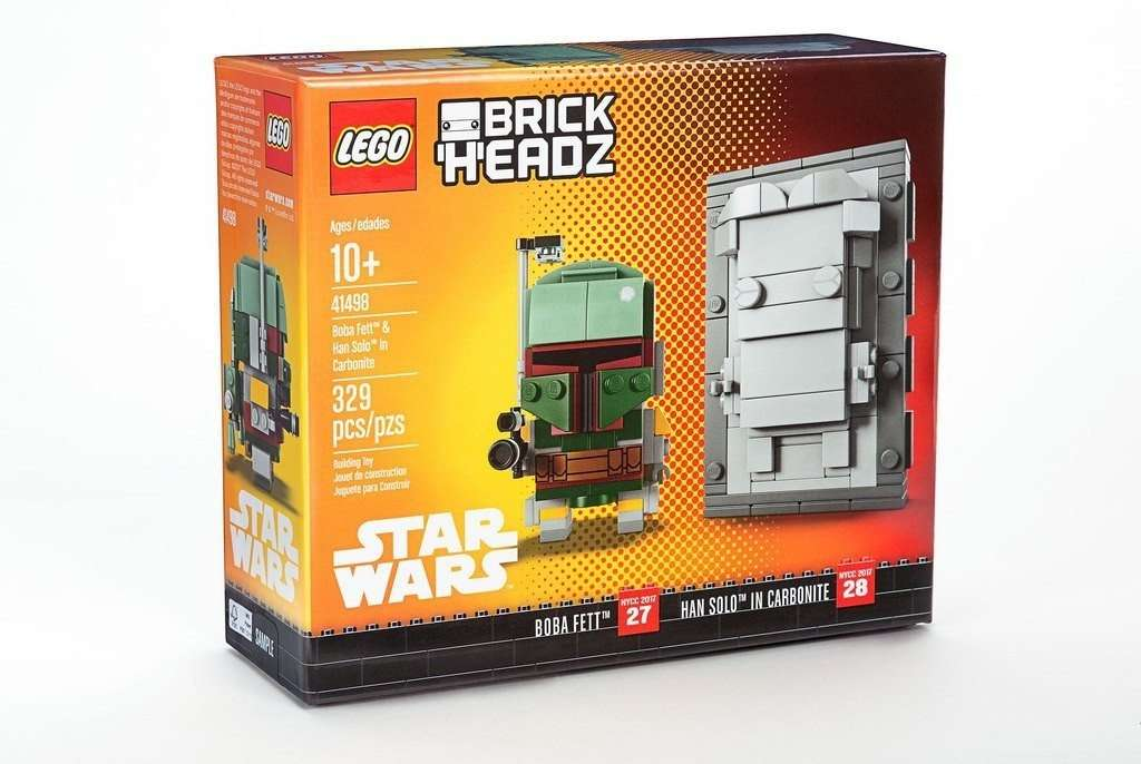 LEGO Brickheadz Boba Fett & Han Solo Carbonite 41498