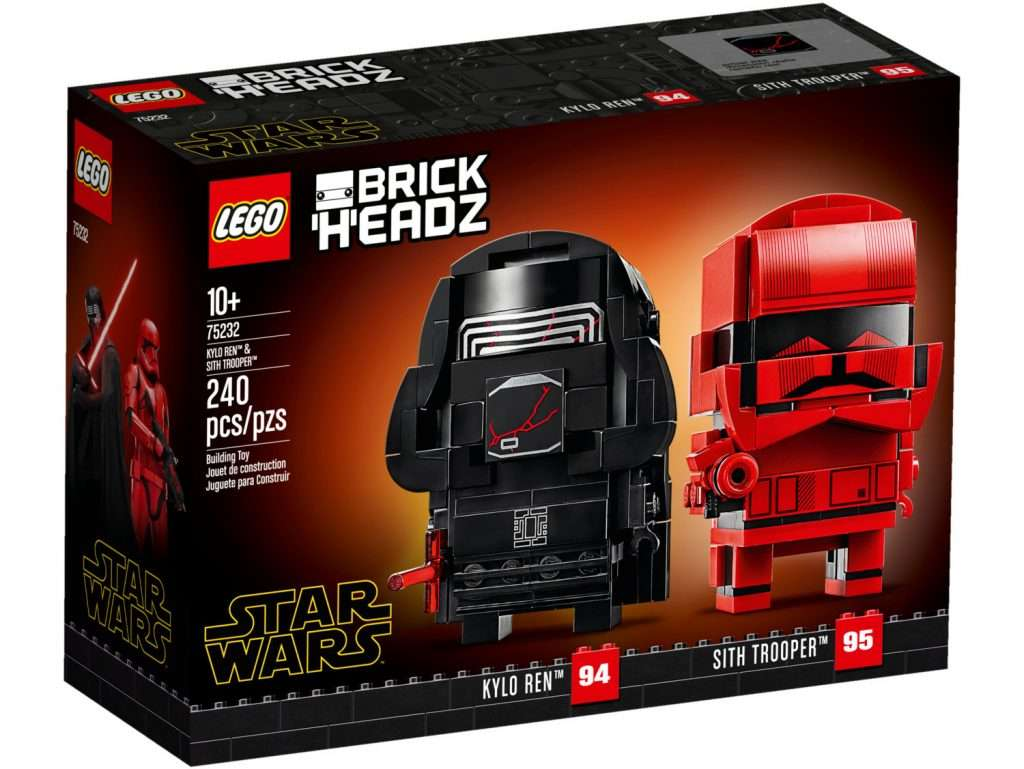 LEGO Brickheadz Kylo Ren and Sith Trooper