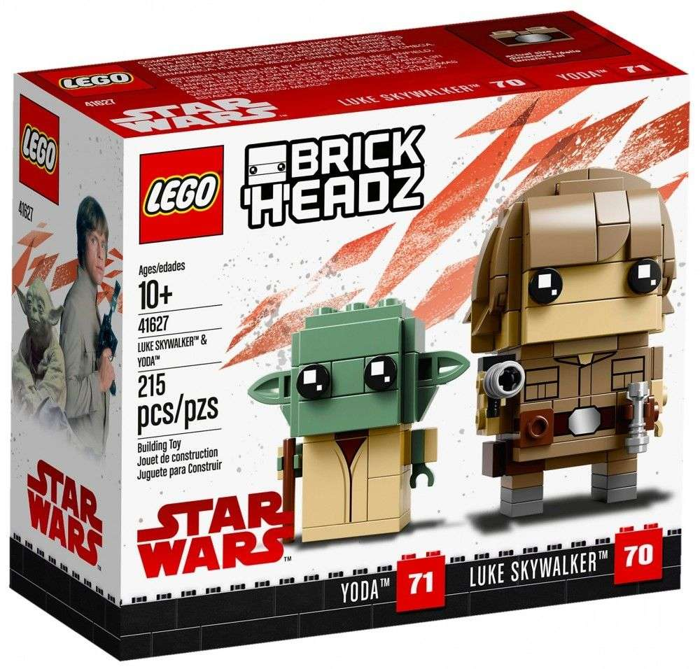 LEGO Brickheadz Luke Skywalker and Yoda 41627