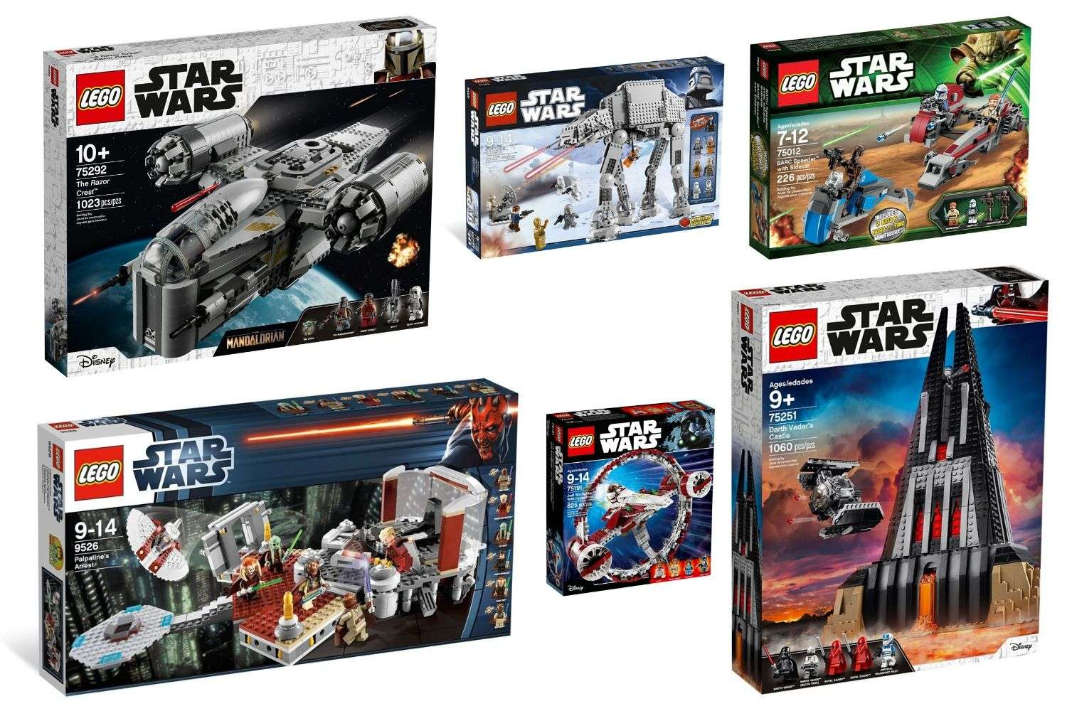 Top 10 LEGO Star Wars store exclusives
