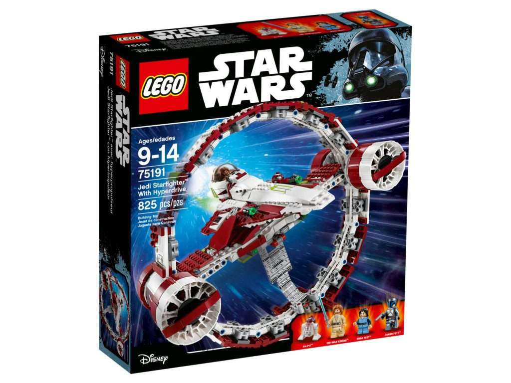 75191 Obi-Wan's Starfighter with Hyperdrive Ring