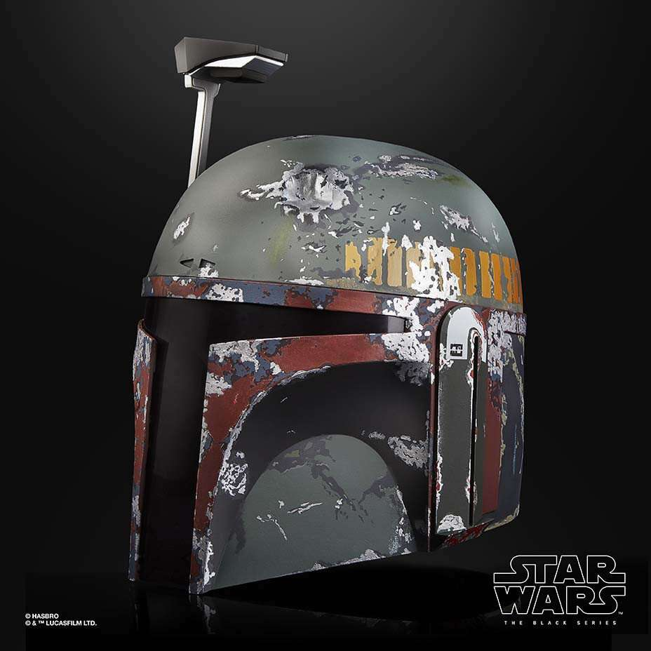 Black Series Boba Fett replica helmet
