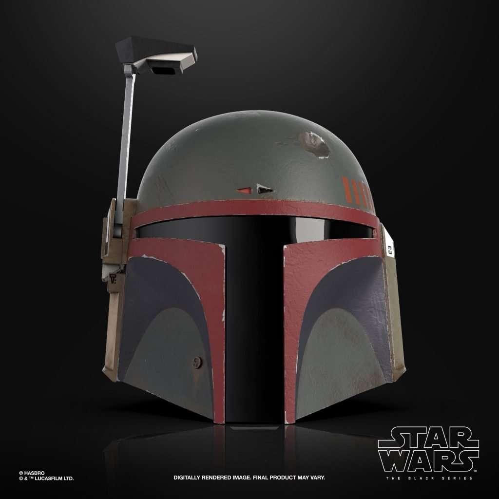 Black Series Boba Fett Re-armored helmet