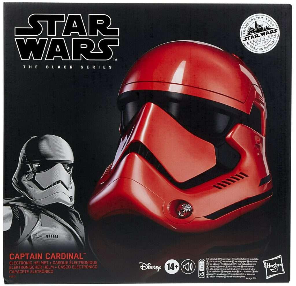 Captain Cardinal Black Series helmet