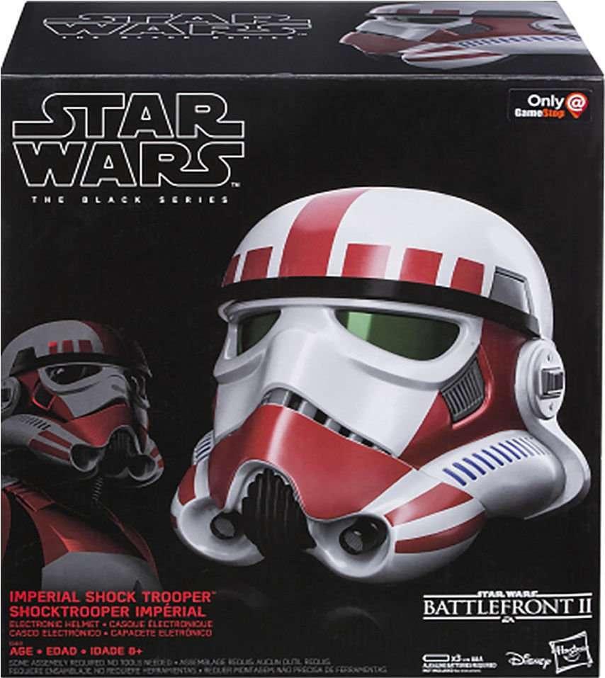 Black Series Shock Trooper Helmet