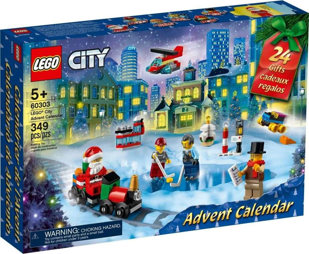 LEGO City Advent Calendar 2021