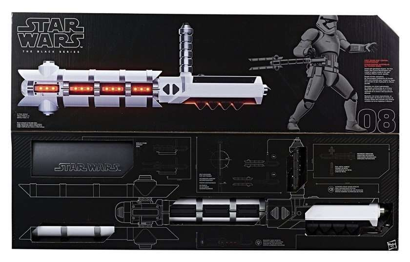 First Order Riot Trooper Baton Force FX (NON-LIGHTSABER)