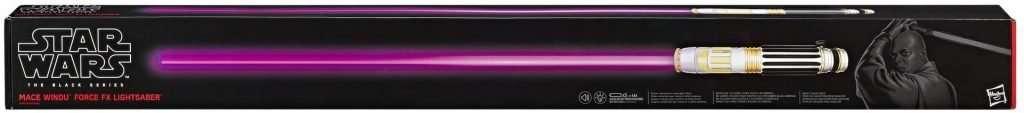 Mace Windu Force FX Lightsaber
