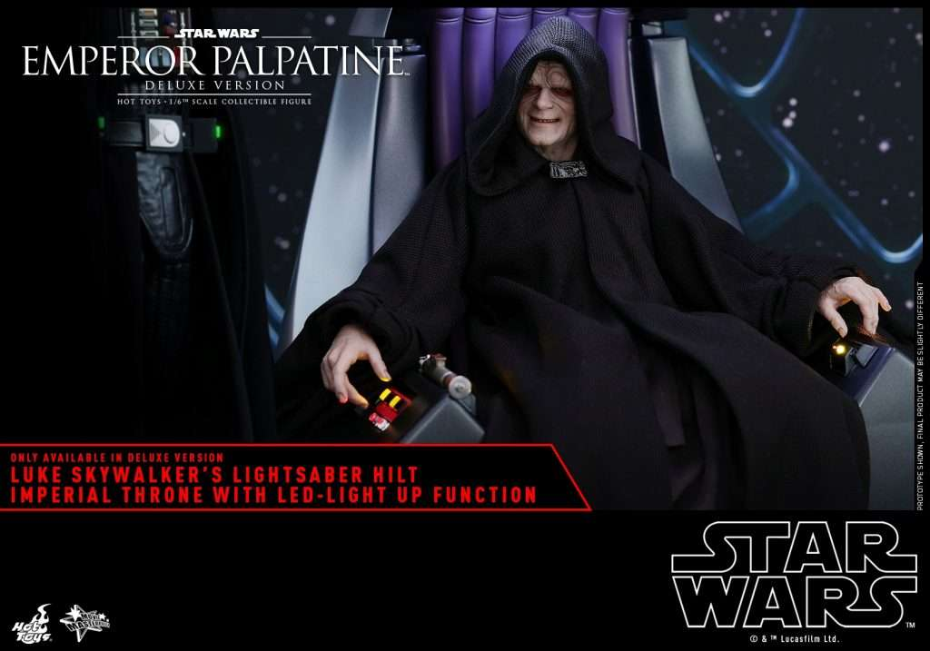 ROTJ Emperor Palpatine with throne MMS468