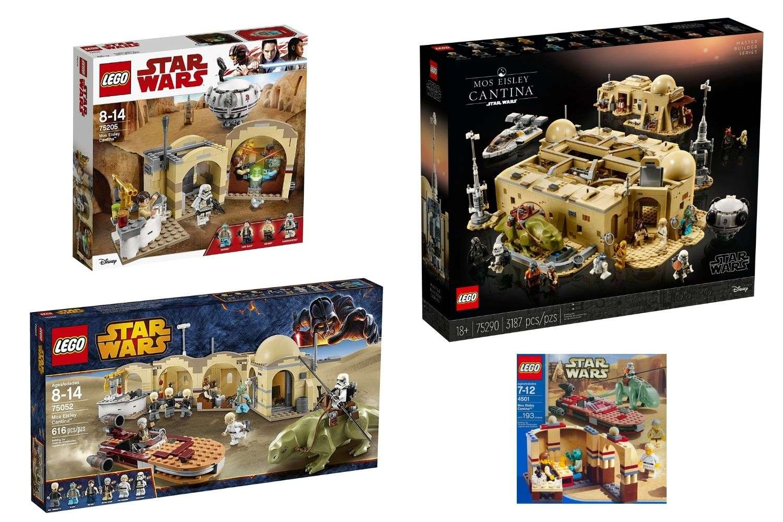 LEGO Star Wars Mos Eisley Cantina sets