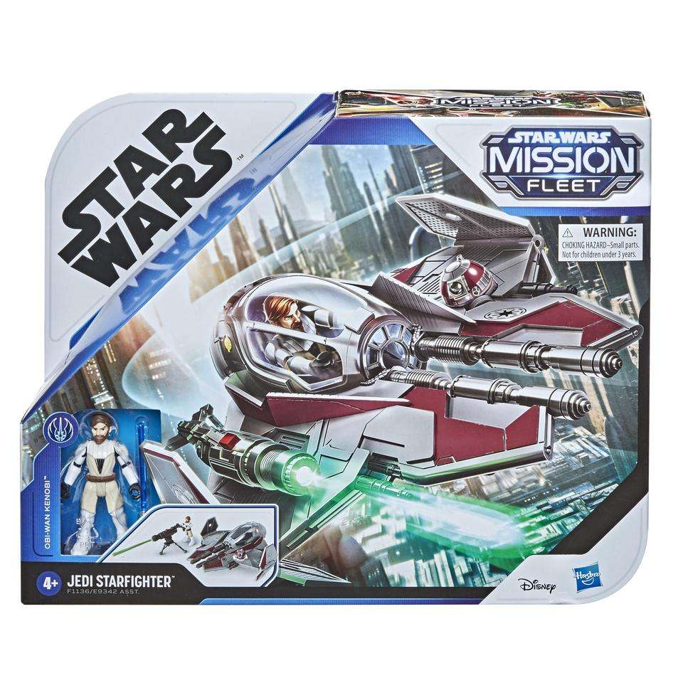 Obi-Wan Kenobi Jedi Starfighter Mission Fleet